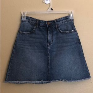 William Rast Denim Skirt size 26